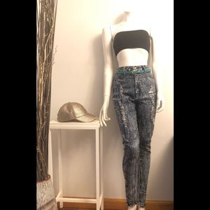Pants - High Waisted Jeans
